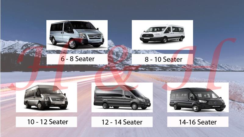 8 - 16 Seater Minibus